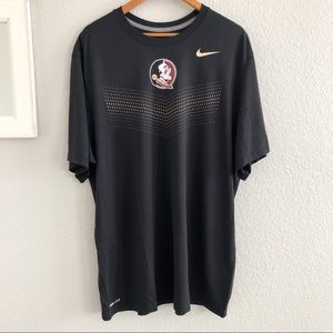 NEW Nike Dri-Fit FSU Florida State Seminoles Shirt